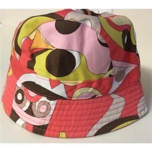 SOLD- Emilio Pucci Bucket Hat Stella